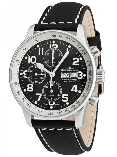 Zeno Watch Basel XL Pilot Chronograph Day-Date P557TVDD-b1