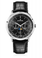 Edox Les Vauberts Moon Phase Complication 40101 3C NIN
