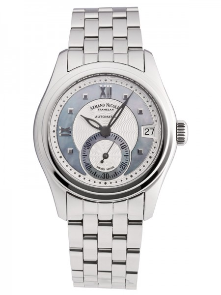 Armand Nicolet M03 Small Seconds & Date 9155A-AK-M9150