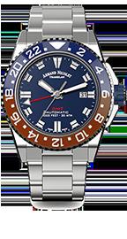 Armand Nicolet JS9 GMT Datum Automatik A486BGU-BU-MA4480AA