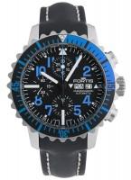 Fortis Aquatis Marinemaster Chronograph Blue 671.15.45 L.01