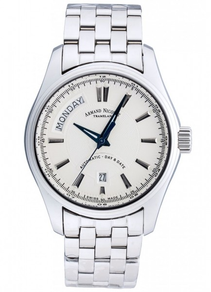 Armand Nicolet M02 Day & Date 9641A-AG-M9140