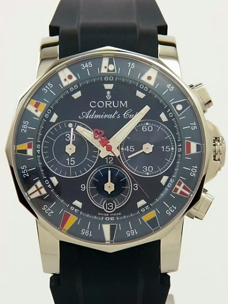 Corum Admiral's Cup Chronograph COSC 985-643-20-F373 AB35