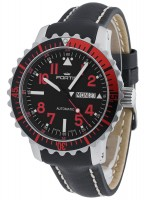 Fortis Aquatis Marinemaster Day/Date Red 670.23.43 L.01