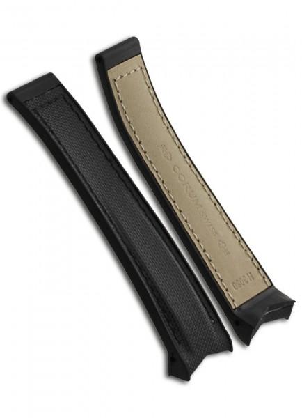 Corum Uhrenarmband Kevlar Schwarz 18mm/15mm