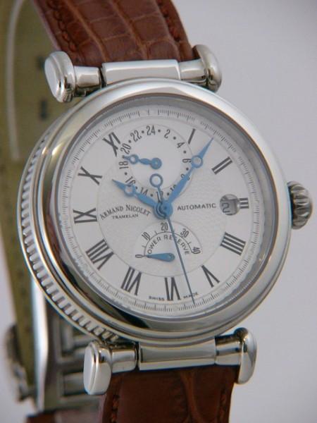 Armand Nicolet Arc Royal GMT 9423A-AG-P743GD2