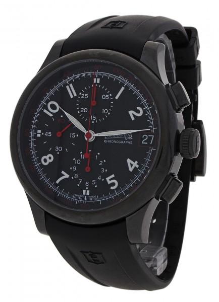 Eberhard & Co Traversetolo -Noir- Limited Edition Chronograph Datum 31053.1 CU