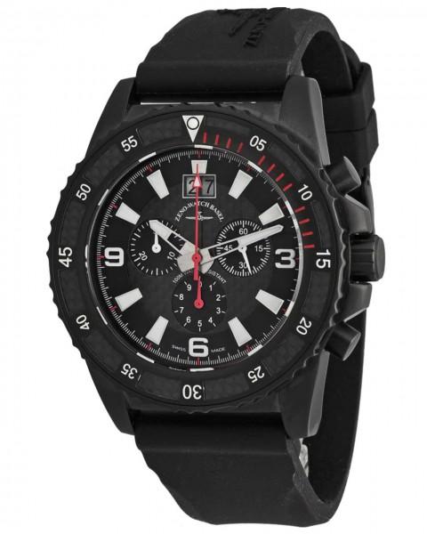 Zeno-Watch Basel Chrono Big Date Black 6478-5040Q-BKS1-7