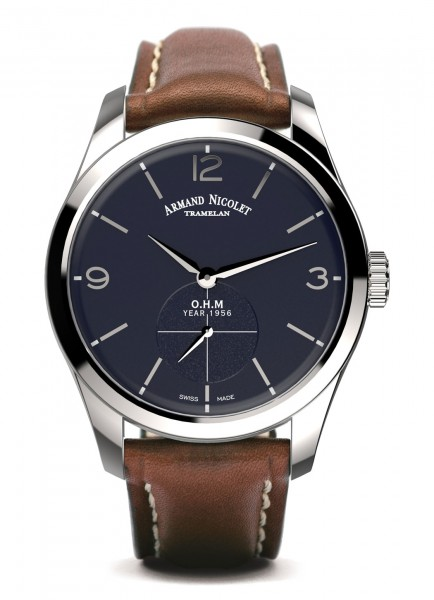 Armand Nicolet LB6 Small Seconds Limited Edition A134AAA-BU-P140MR2