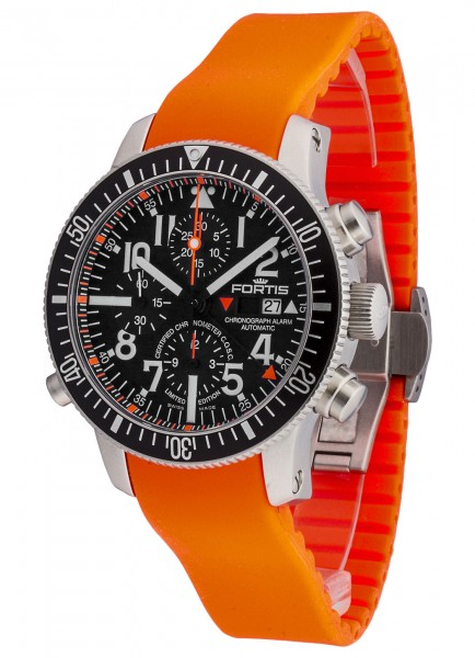 Fortis Marinemaster Alarm Chronograph Limited Edition COSC 639.10.41 Si.20