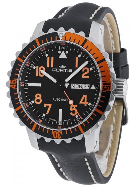 Fortis Aquatis Marinemaster Day/Date Orange 670.19.49 L.01