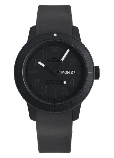 Fortis B-42 Pitch Black Day/Date Limited Edition 647.28.81 K