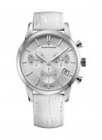 Claude Bernard Jolie Classique Chronograph Datum Quarz 10231 3 AIN