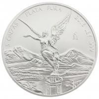 5 oz Mexiko 2016 Libertad Siegesgöttin 5 Unzen  999/1000 Silber