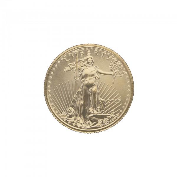1/4 oz USA - Gold American Eagle - 10 USD - 916,7/1000 Goldmünze