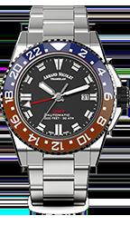 Armand Nicolet JS9 GMT Datum Automatik A486BGN-NR-MA4480AA
