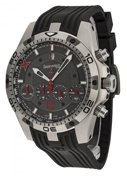 Eberhard&Co Chrono 4 Geant - Titane X - Edition Limitee - Datum Chronograph 37061.1 CU