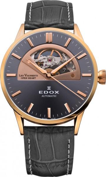 Edox Les Vauberts Open Heart 85014 37R GIR