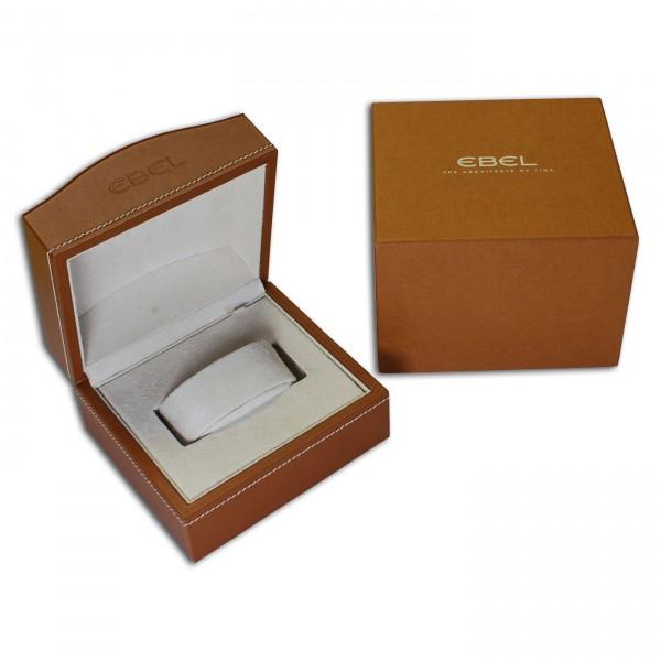 Ebel Original Uhrenbox Uhrenkiste Braun