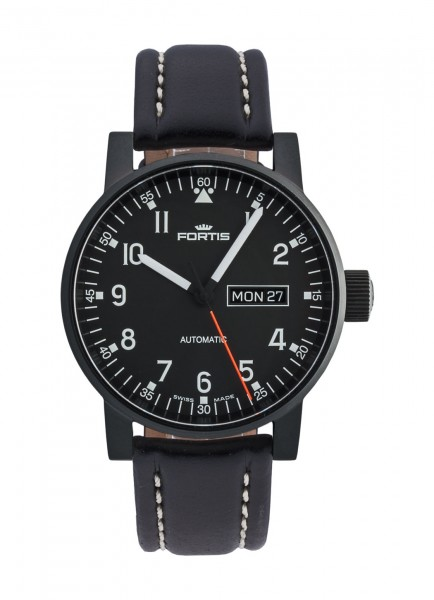 Fortis Spacematic Pilot Professional Day/Date Automatik 623.18.71 L.01