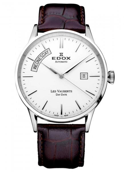 Edox Les Vauberts Day Date Automatic 83007 3 AIN
