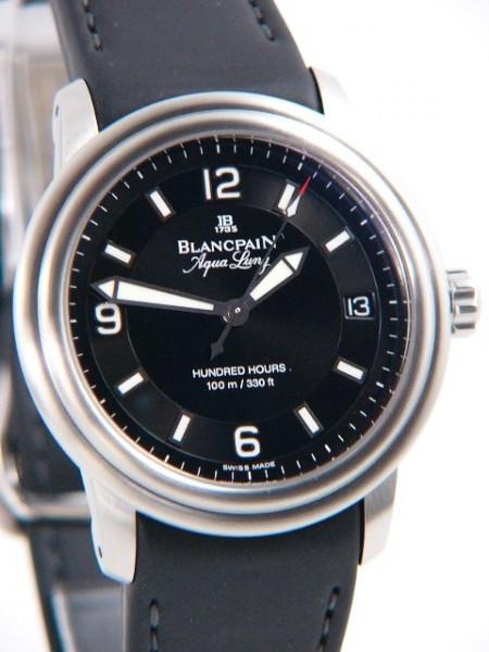 Blancpain Léman Ultraflach Aqua Lung 2100-1130A-64B