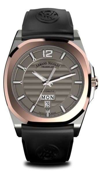 Armand Nicolet J09 Day & Date D650AAA-GR-GG4710N-W
