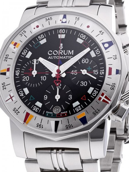 Corum Admiral's Cup Chronograph COSC 985-630-20-V785 AN32