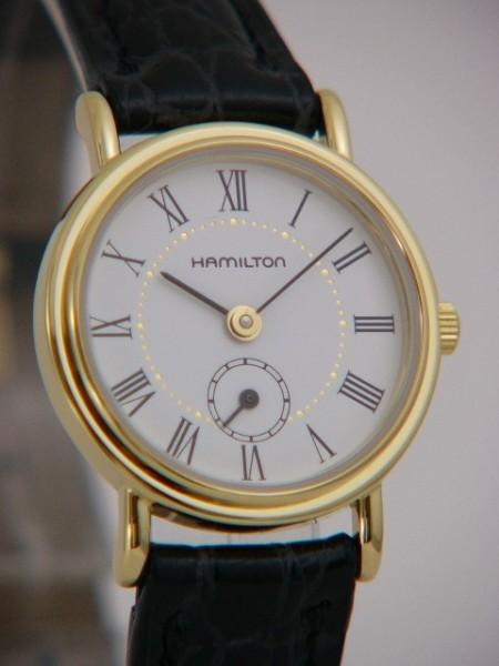 Hamilton Thinline Quarz Damenuhr H22231714