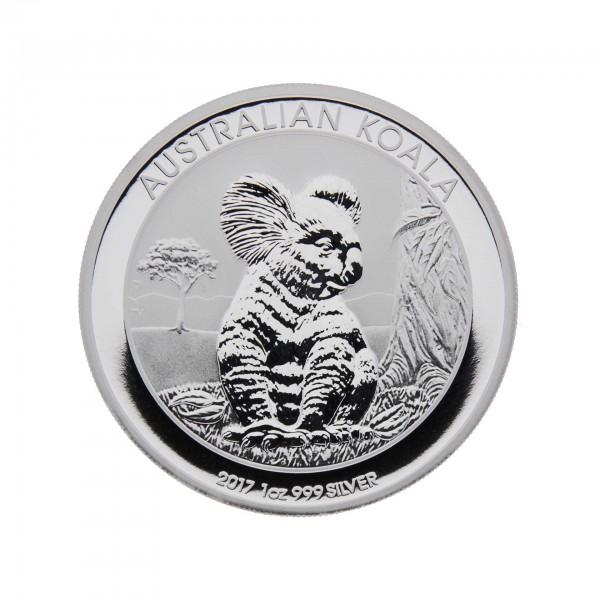 1 oz Australien 2017 Koala 1 AUD 999/100 Silbermünze