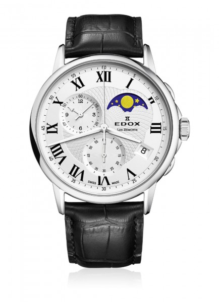 Edox Les Bémonts Chronograph Mondphase 01651 3 AR