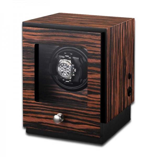 Uhrenbeweger für 1 Uhr UBO2041 - Makassarholz