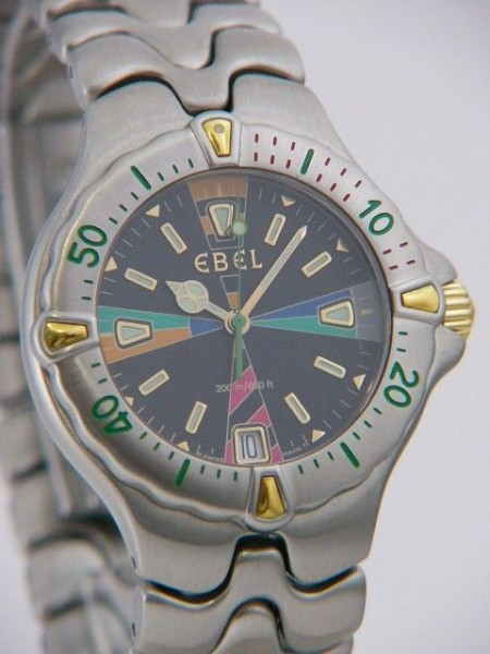 Ebel Sportwave Senior Quarz 6187531/58G10