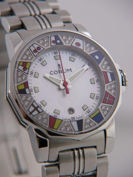 Corum Admiral's Cup mit Diamanten 039-430-47-V785-PN34