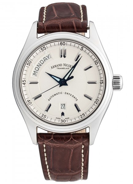 Armand Nicolet M02 Day & Date Automatic 9141A-AG-P974MR2