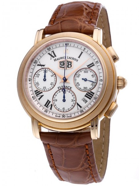Maurice Lacroix Masterpiece Flyback Annuaire 18 Karat Gold