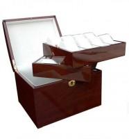 Uhrenbox für 16 Uhren / MAHAGONI - 7609