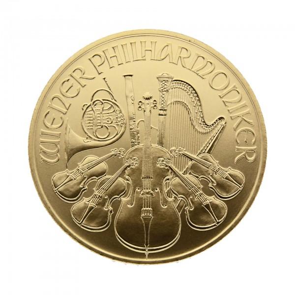 1 Oz österreich 2017 Wiener Philharmoniker 100 Euro 9999 Goldmünze