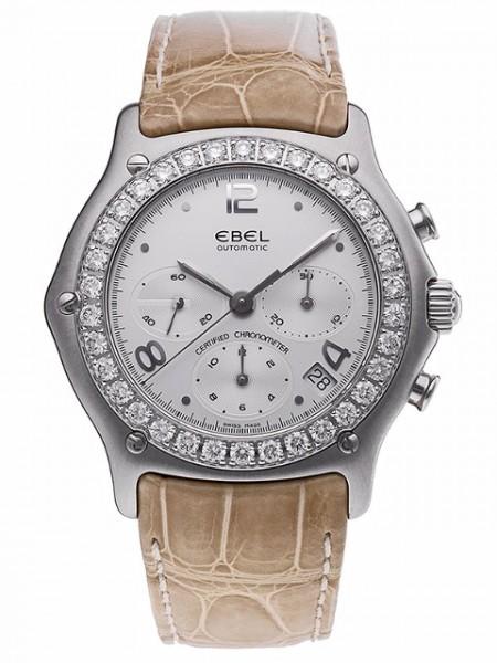 EBEL 1911 Chronograph mit 2ct Diamanten 9137247-26735260C
