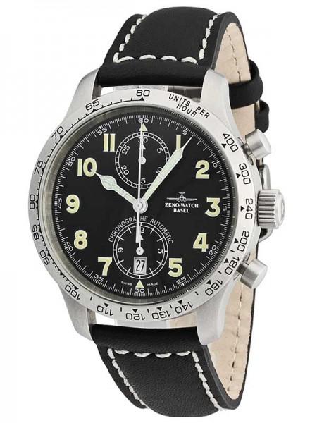 Zeno Watch Basel Tachymeter Pilot Chronograph Bicompax 9557-2T-a1