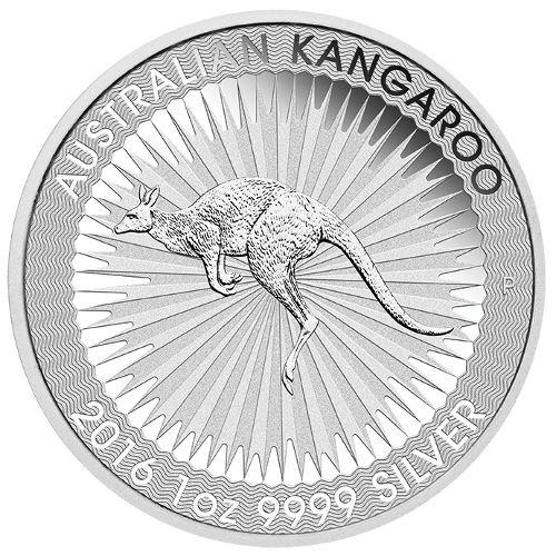 "1 oz Australien 2016 ""Kangaroo"" 1 Unze 999.9/1000 Silbermünze"