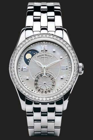 Armand Nicolet M03 Moonphase & Date 9151D-AN-M9150