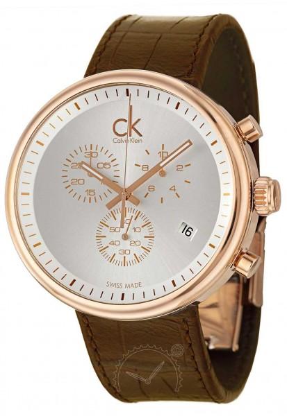 Calvin Klein Substantial Herrenuhr Chronograph K2N276G6