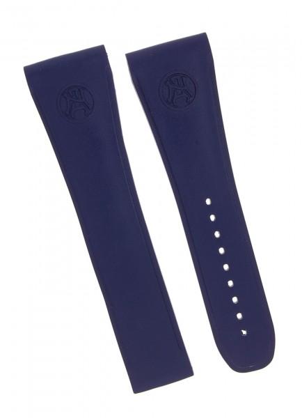 Armand Nicolet Kautschuk Armband (Blau) ohne Schließe GG4710U
