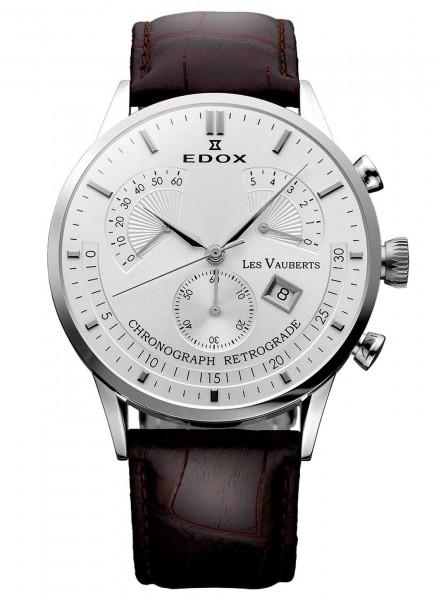 Edox Les Vauberts Chronograph Retrograde 01505 3 AIN
