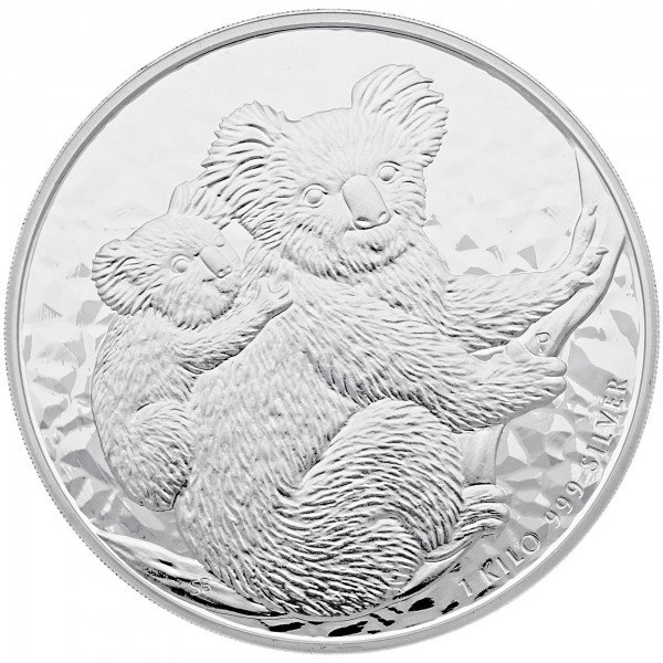 1 Kg Australien 2008 Koala Erstausgabe 999 Silbermünze 1 Kilo