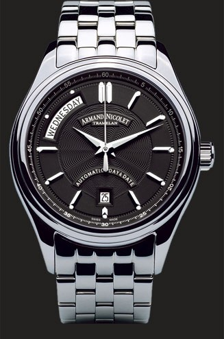 Armand Nicolet M02 Day & Date 9141A-NR-M9140