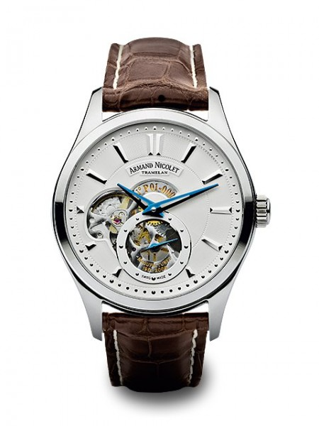 Armand Nicolet L06 Small Second 9130A-AG-P713MR2