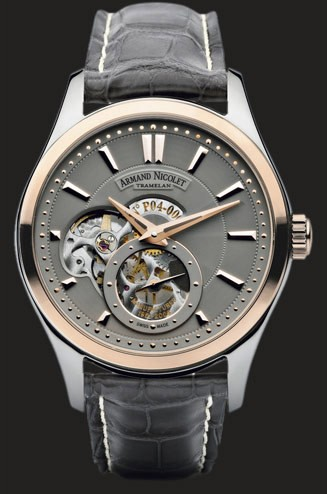 Armand Nicolet L06 Small Second Limited 8130A-GR-P713GR2