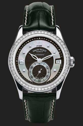 Armand Nicolet M03 Small Seconds & Date 9155D-NN-P915NR8